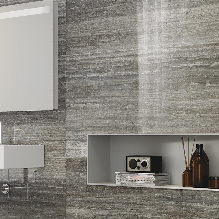 Indoor Tile Outdoor Wall Floor Tale Silver Verso
