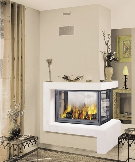 Wood burning fireplace contemporary closed hearth 3 sided wood burning fireplace contemporary closed hearth 3 sided montana 017 teraionfo