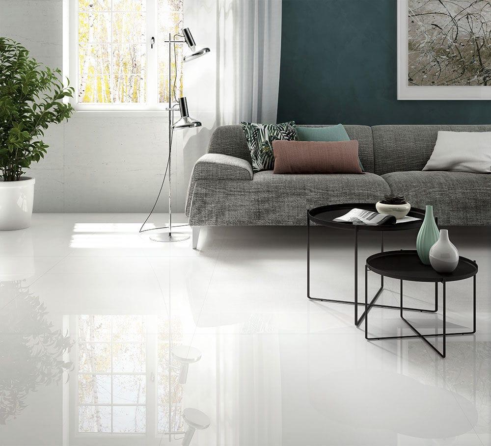 Indoor tile / floor / for floors / porcelain stoneware - BLACK-WHITE ...