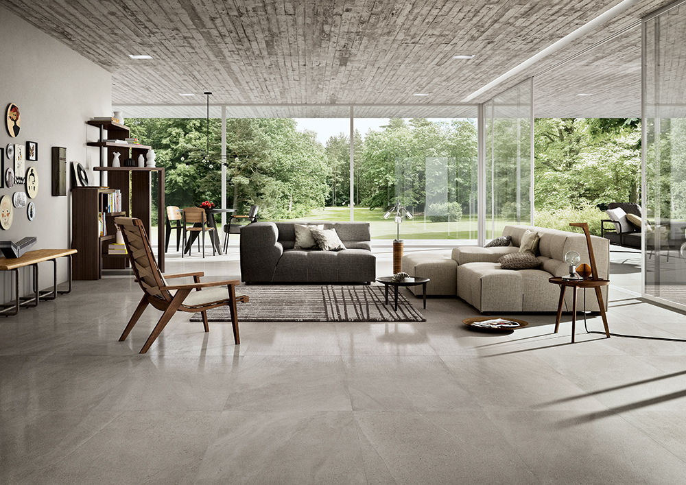 Indoor tile / outdoor / for floors / porcelain stoneware ...