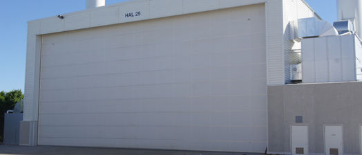 Exceptional Roll Up Industrial Door / Fabric / Steel / Insulated   CRAWFORD VL3016