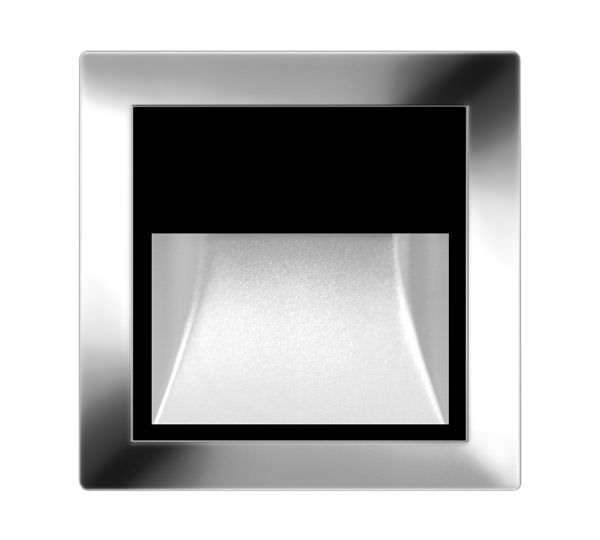 surface mounted light fixture led square outdoor alzir inox - Outdoor Surface Mount Light