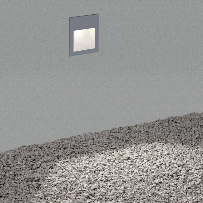 Recessed wall light fixture led square outdoor heli x recessed wall light fixture led square outdoor mozeypictures Gallery