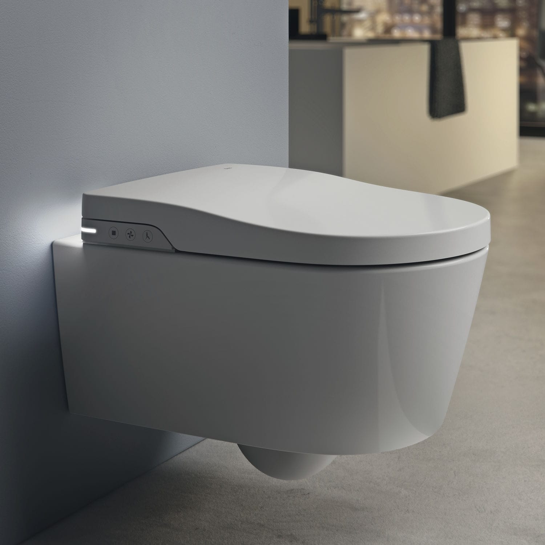 wallhung toilet porcelain smart rimless inspira inwash - Wall Hung Toilet