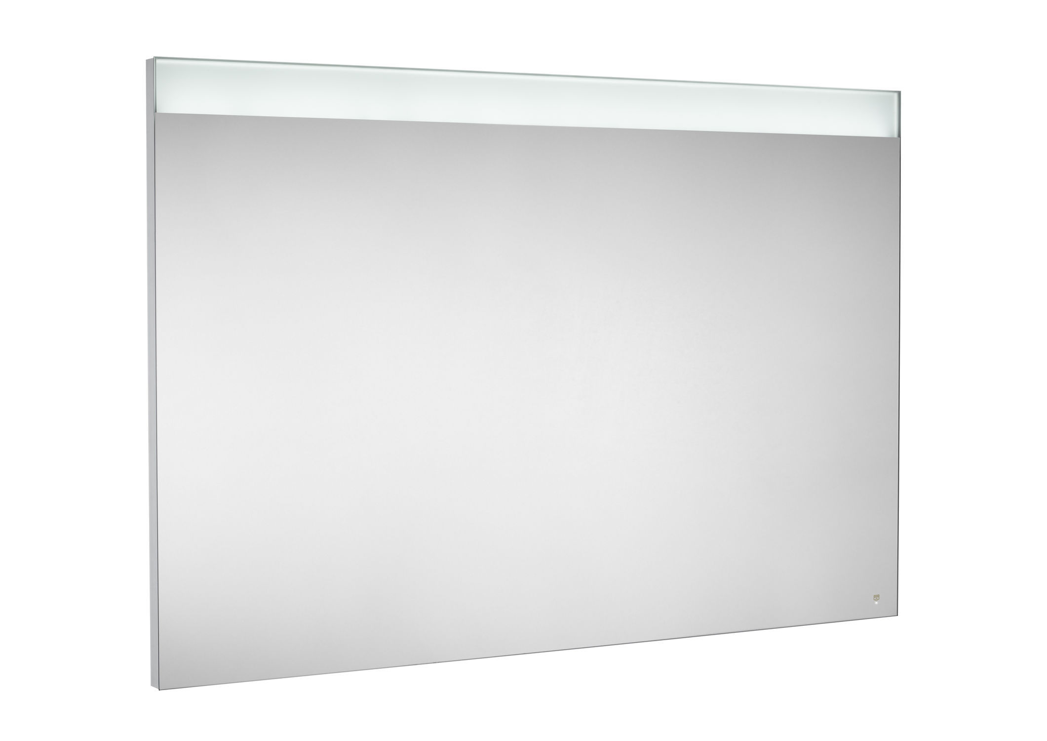 Wall Mounted Mirror Contemporary Rectangular Bathroom PRISMA ROCA
