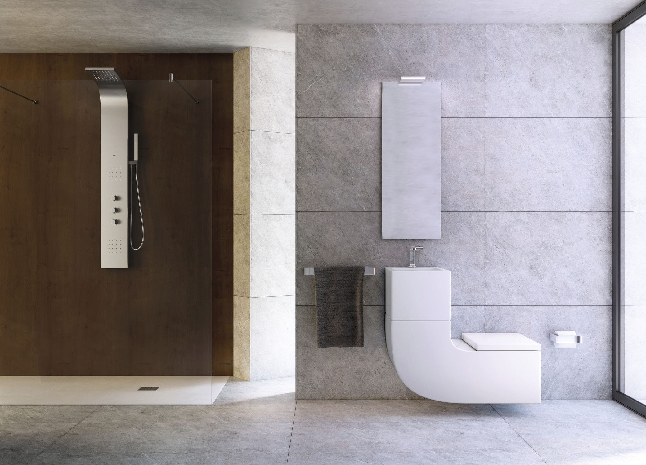 Wall-hung toilet / porcelain / with integrated hand basin - W+W - ROCA