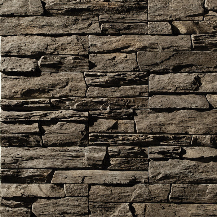 Decorative Stone Walls engineered stone wall cladding panel / exterior / textured