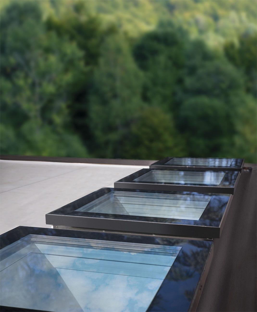 Flat Roof Skylight TYPE F FAKRO ...