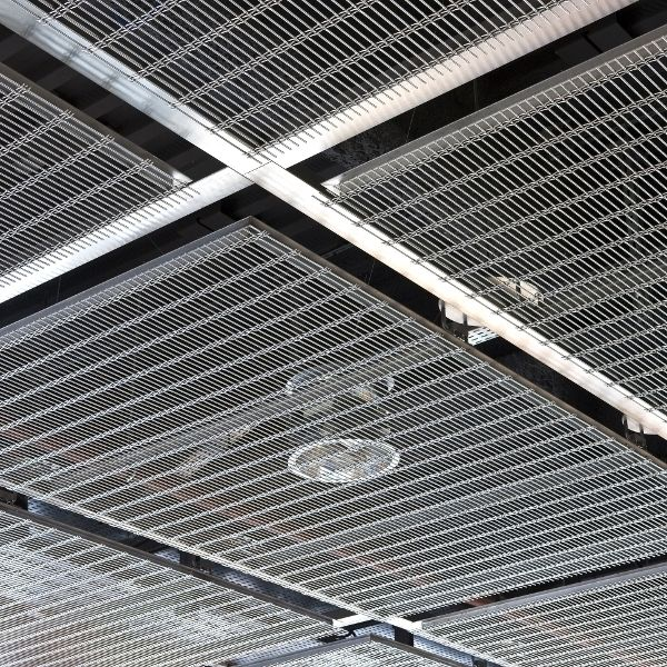 Stainless steel suspended ceiling / wire mesh / panel - DOGLA-TRIO ...