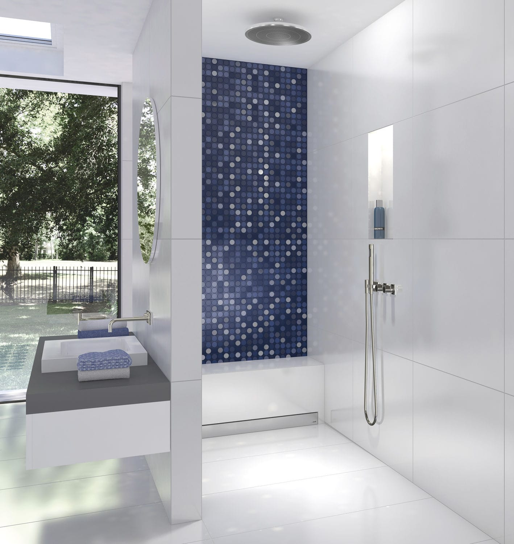 Fixed shower seat / wall-mounted - Sanoasa Bench 1 - wedi GmbH