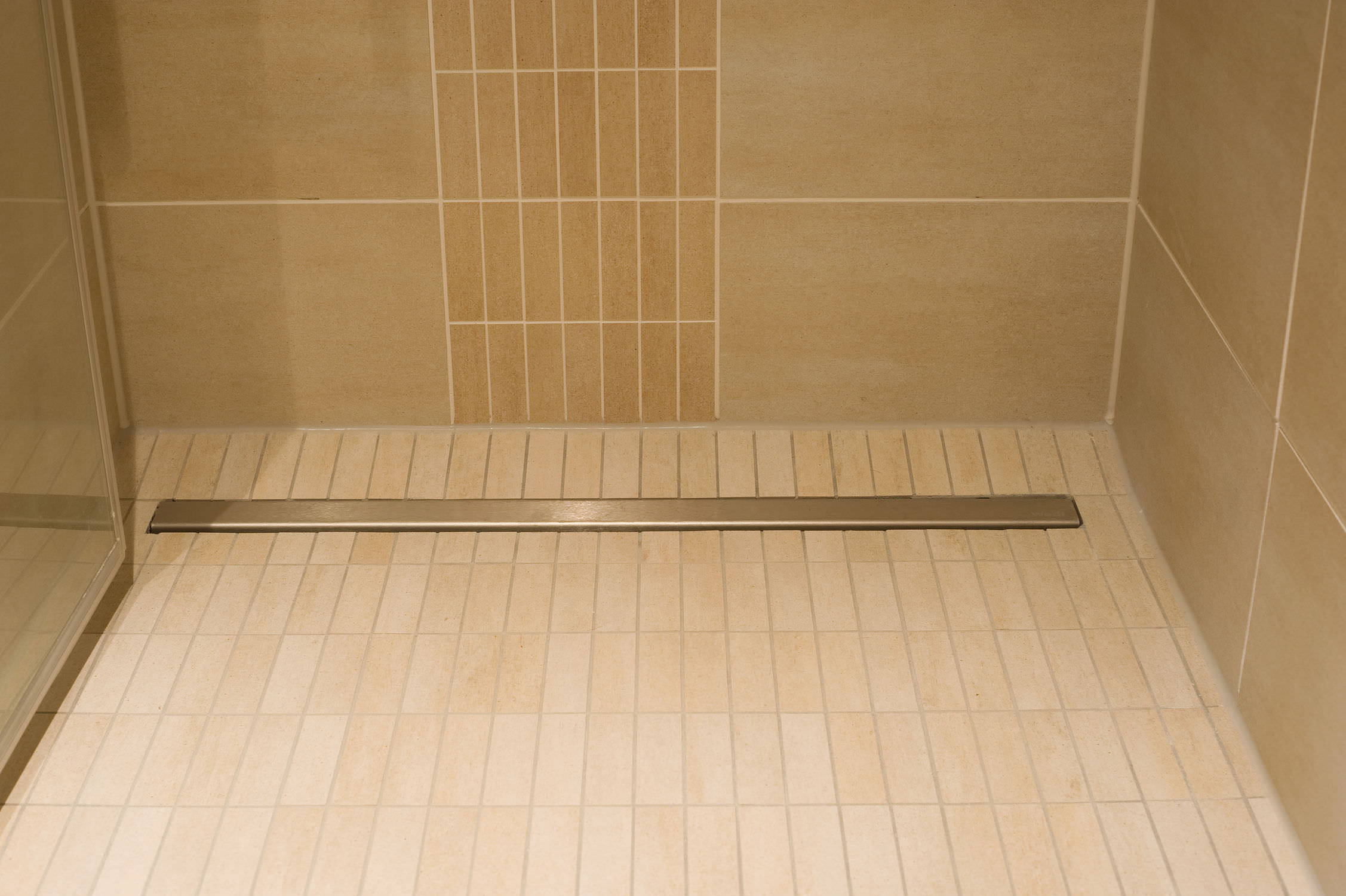 with bases shower x redi gray center tileable p tile pvc drain in base threshold single pans