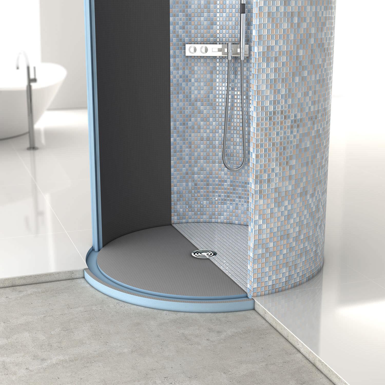 round shower base ceramic fundo trollo wedi gmbh