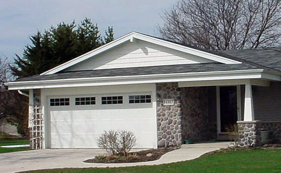 Sectional Garage Door Steel Automatic 9100 9600 Wayne Dalton
