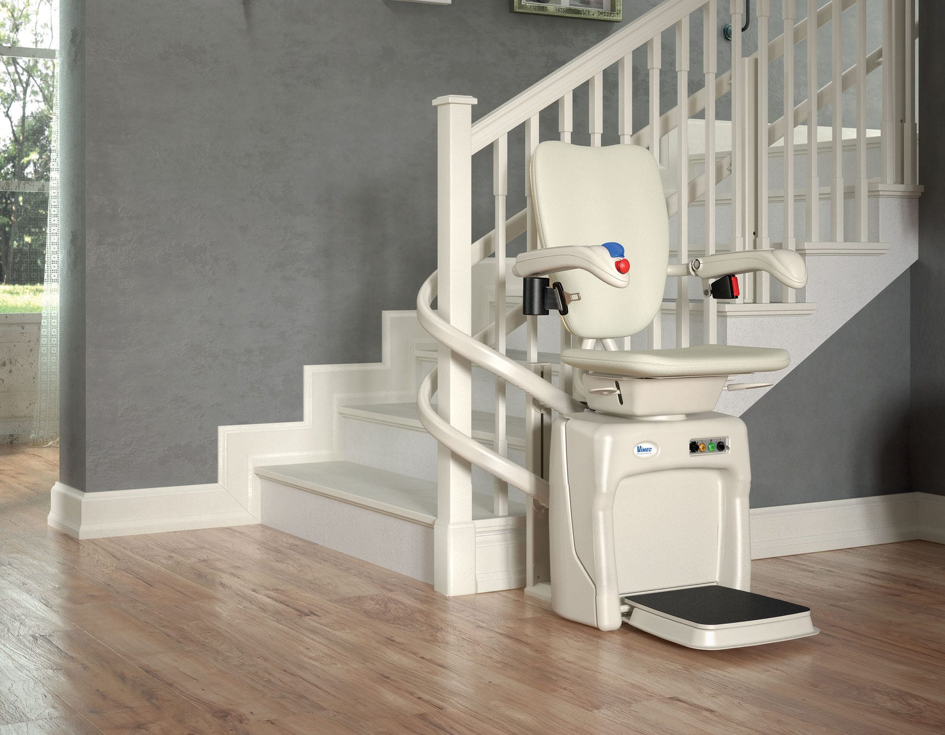 chair for stairs. Indoor Chair Stair Lift / Power-operated Rotating For Stairs