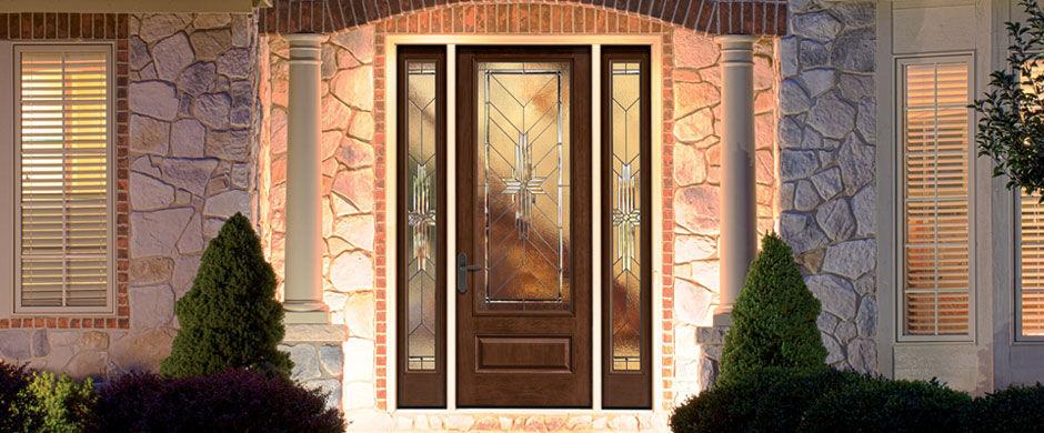 ... Entry Door / Swing / Fiberglass / Semi Glazed ...