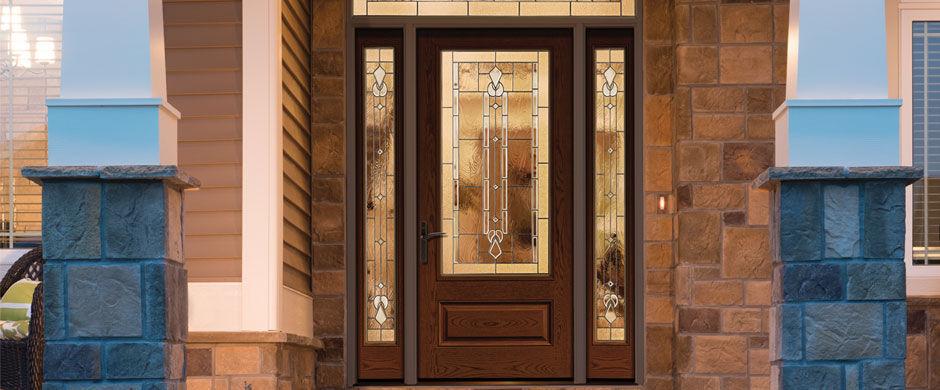 ... Entry door / swing / fiberglass / semi-glazed CLASSIC-CRAFT® THERMA- ... & Entry door / swing / fiberglass / semi-glazed - CLASSIC-CRAFT ...