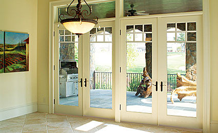Swing French Door / Fiberglass / Double Glazed   SMOOTH STAR®