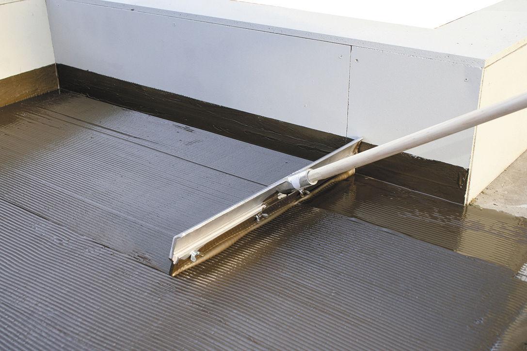 Bituminous Vapor Barrier Polyurethane Coated Adhesive Floors