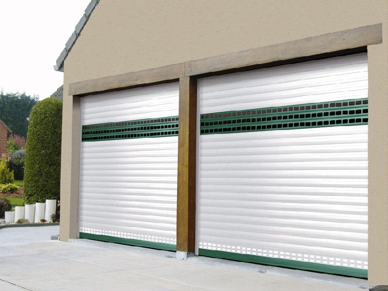 rollup garage doors aluminum automatic carrol soprofen sas