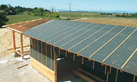 Beautiful Bituminous Waterproofing Membrane / For Roofs / Self Adhesive ADu0027X Siplast  ...