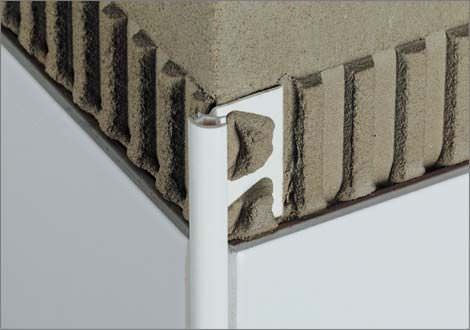 Aluminum Edge Trim For Tiles Rounded SchlÜter Rondec