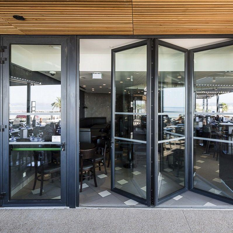 ... sliding and stacking patio door / aluminum / double-glazed / thermal break & Sliding and stacking patio door / aluminum / double-glazed / thermal ...