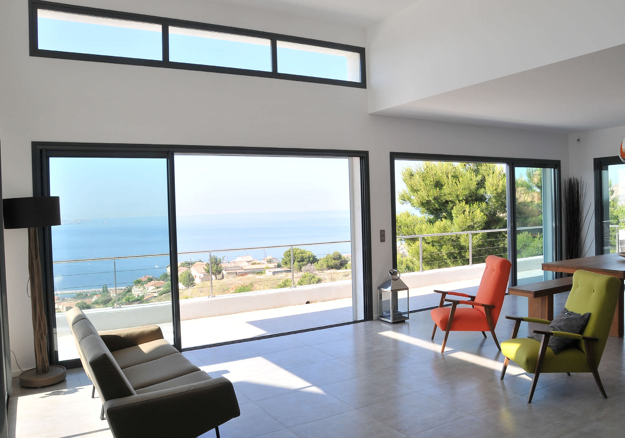 Patio glass sliding doors - Wooden Patio Glass Sliding Door System Cp 50 Reynaers Aluminium