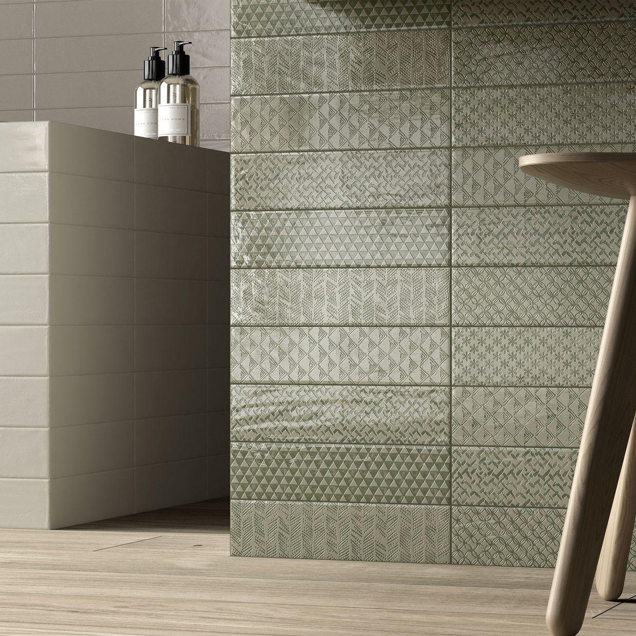 Bathroom tile / kitchen / wall / porcelain stoneware - LOFT BRICK ...