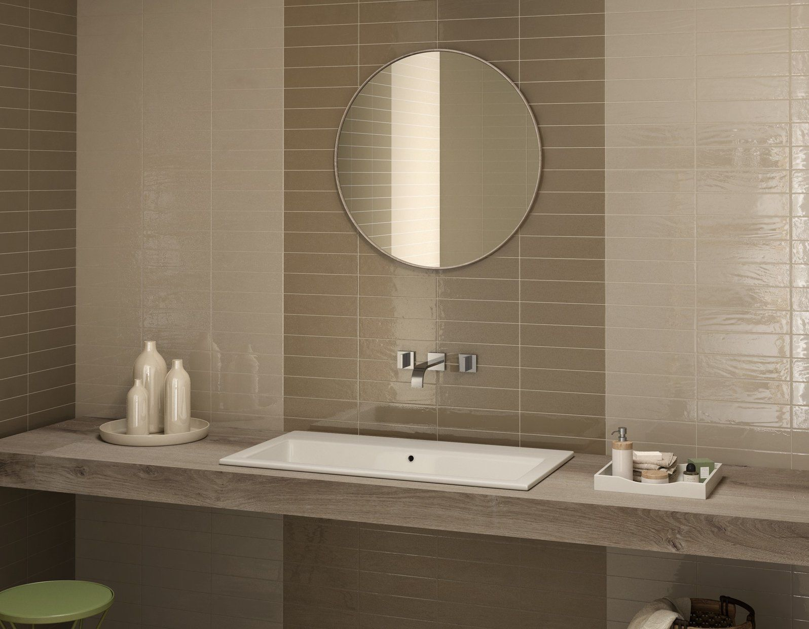 bathroom tile kitchen wall porcelain stoneware loft brick