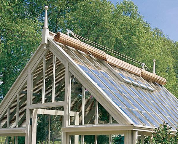 Roller Blinds / Canvas / Outdoor / For Roof Windows   CEDAR