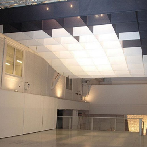 Paper Suspended Ceiling / Floating / Decorative / With Relief