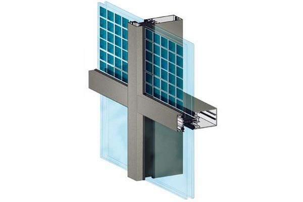 Panel curtain wall / with photovoltaic panel - TANAGRA ...
