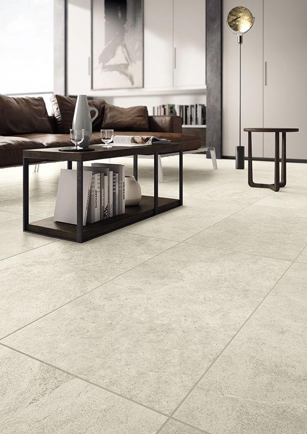 Indoor Tile Floor Wall Enameled True Warm White Panaria