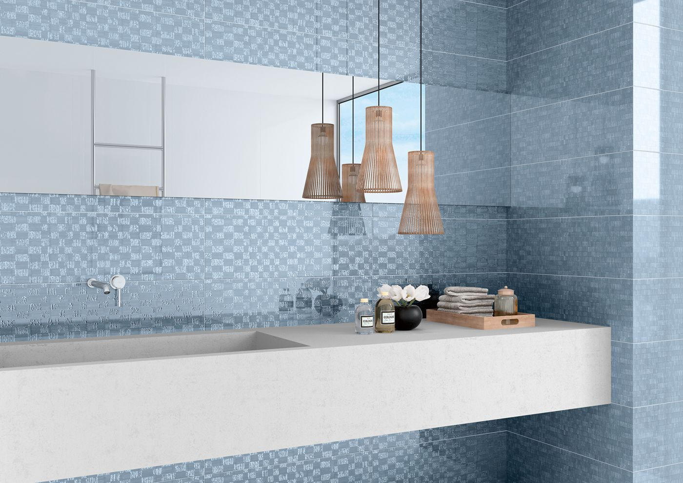 Kitchen tile / wall / porcelain stoneware / plain - AKIRA - PAVIGRES ...