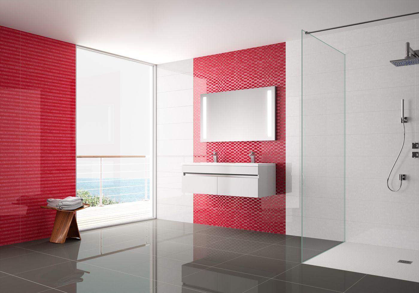Kitchen tile / wall / porcelain stoneware / plain - AKIRA - PAVIGRES ...