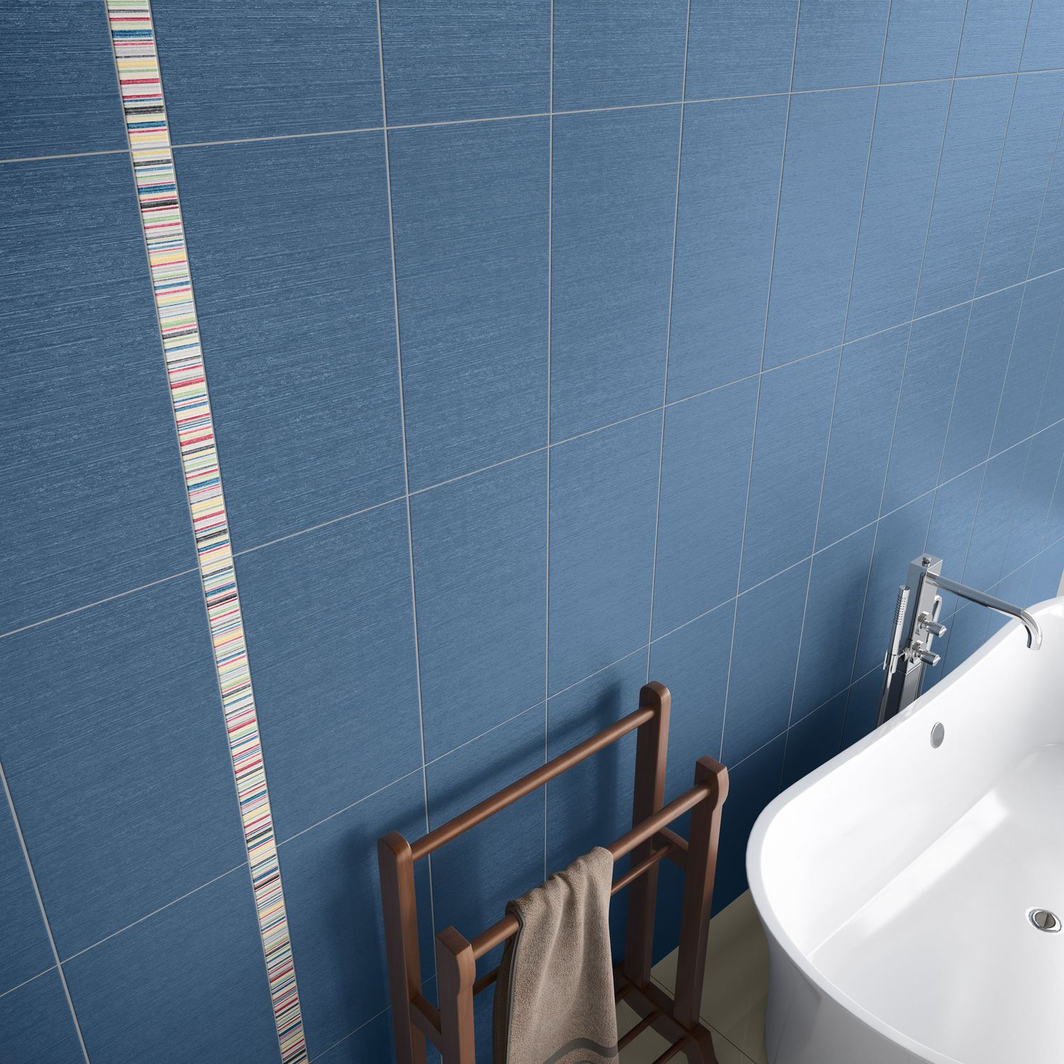 Bathroom tile / wall / porcelain stoneware / patterned - PARIS ...