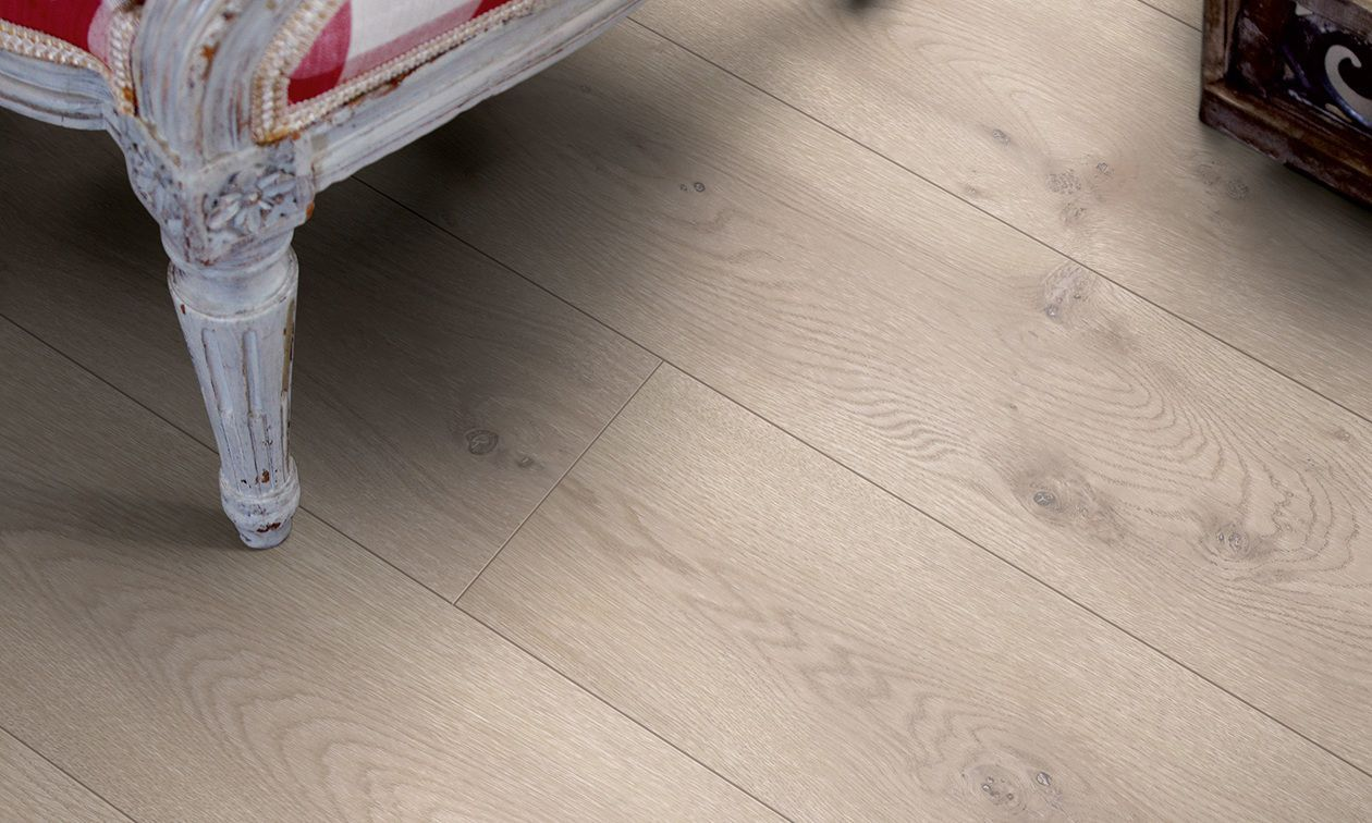 HDF laminate flooring / click-fit / wood look / commercial - MODERN ...