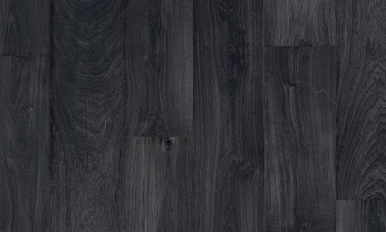 HDF Laminate Flooring Click Fit Wood Look For Public Buildings BLACK OAK