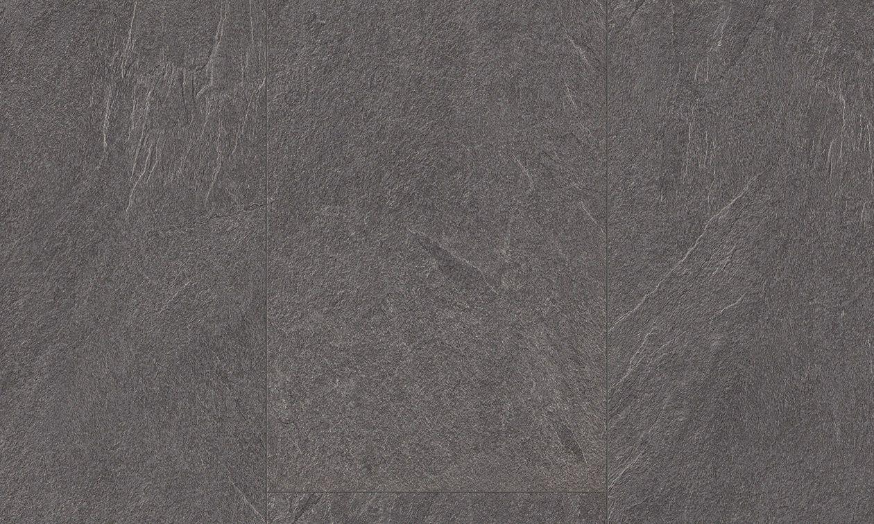 ... HDF Laminate Flooring / Click Fit / Stone Look / Tile Look MEDIUM GREY  SLATE