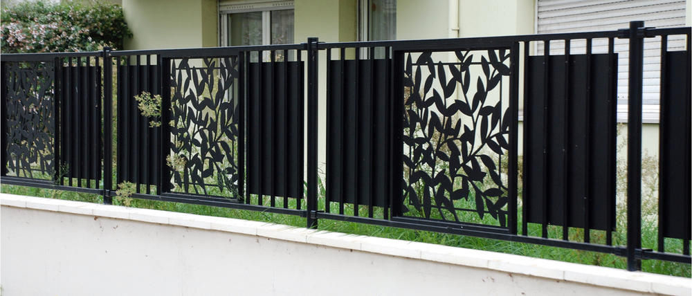Steel Garden Fencing Panels Designs
