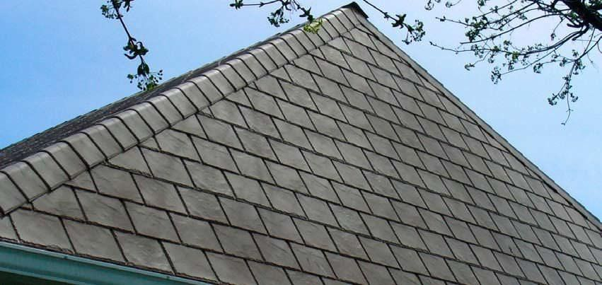 Exceptional Polymer Roofing #2: ... Polymer Roofing Panel / Roof Tile Look / With UV Protection /  Waterproof NOVISLATE® NOVIK ...