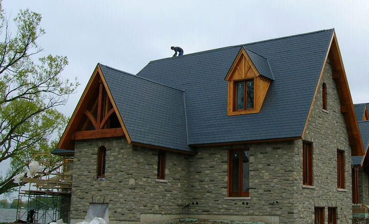 Ordinary Polymer Roofing #4: ... Polymer Roofing Panel / Roof Tile Look / With UV Protection /  Waterproof NOVISLATE® NOVIK ...