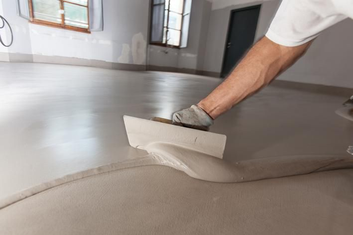 Cement Flooring Residential Textured Concrete Look