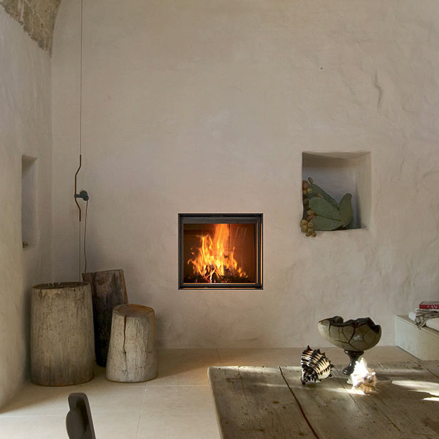 Adding A Wood Burning Fireplace To An Interior Wall Fireplace Ideas