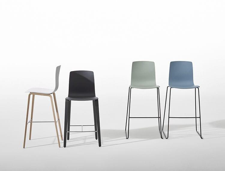 Sgabello bar bobo stool per arredare ambienti esterni o interni