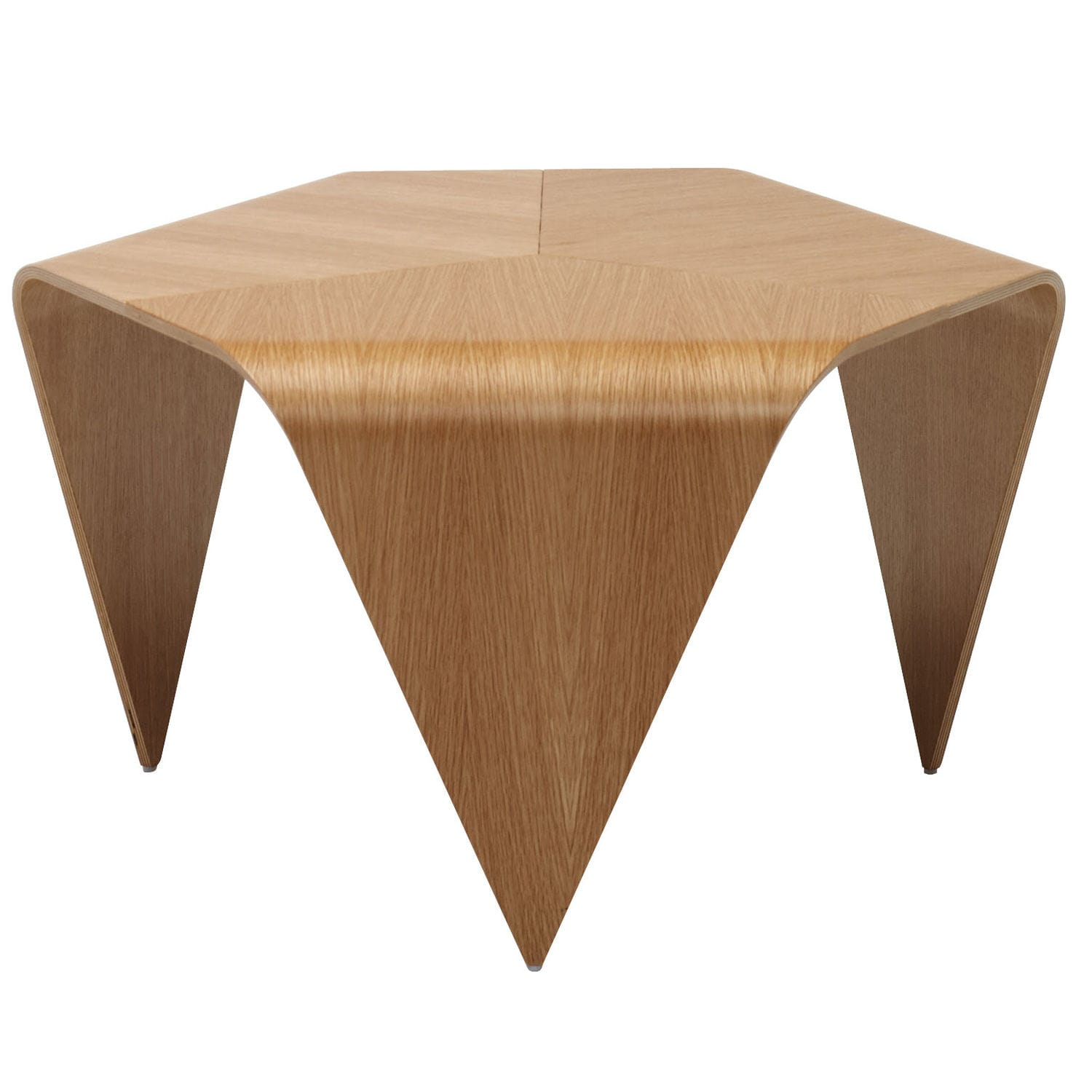 Birch Coffee Table Coffee Table Contemporary Walnut Lacquered Wood Trienna By