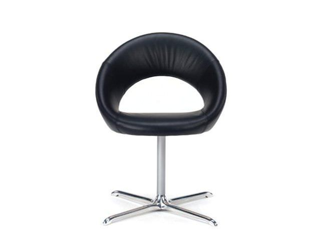 chair swivel on casters nina by ren holten