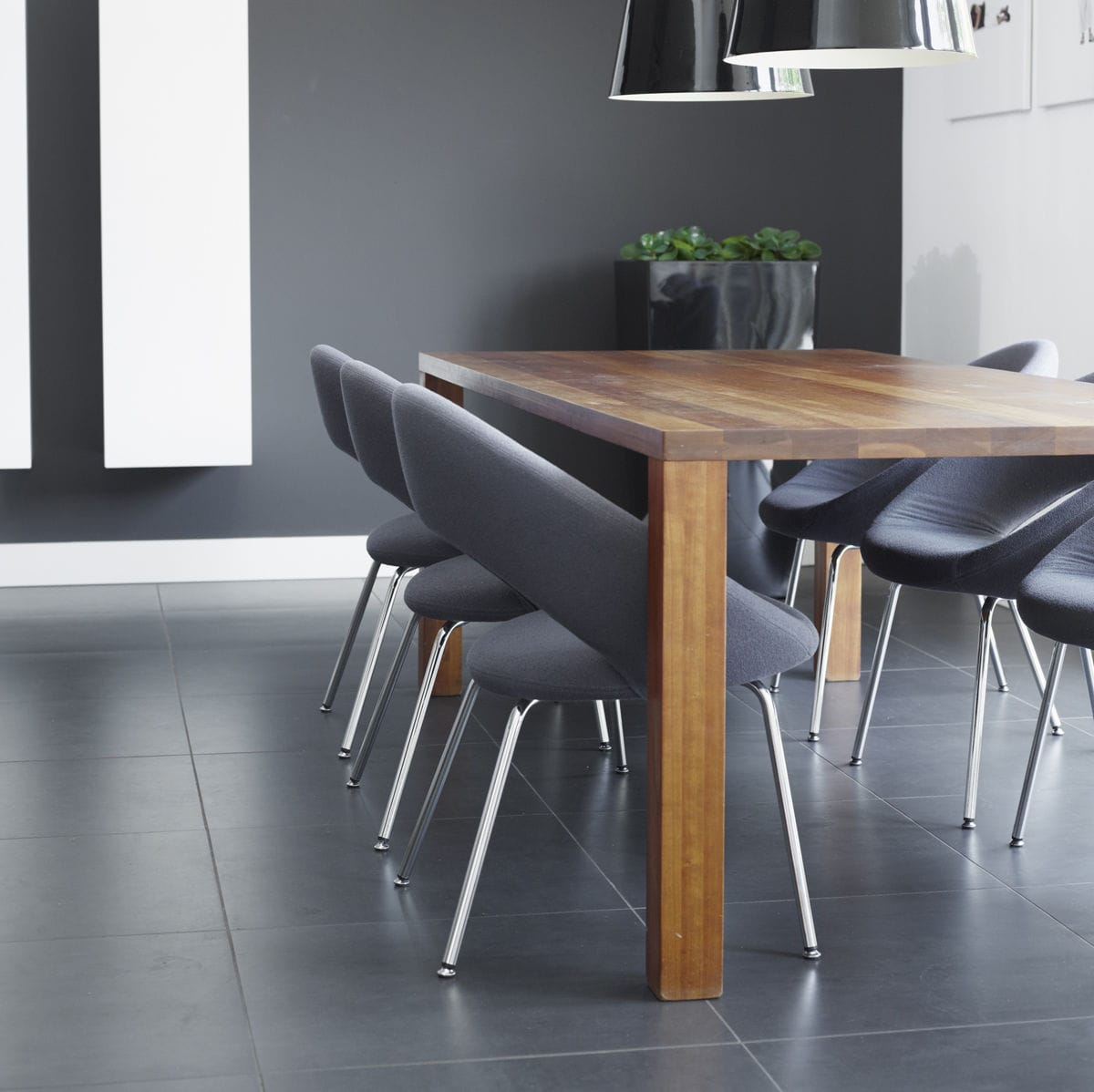 contemporary chair adjustable height swivel on casters nina