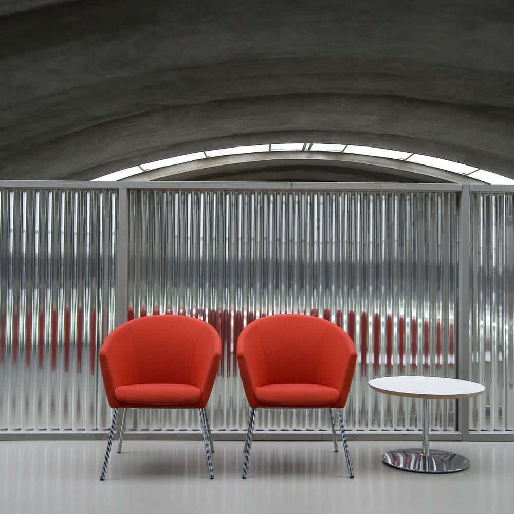 conference chair swivel on casters upholstered megan by ren holten