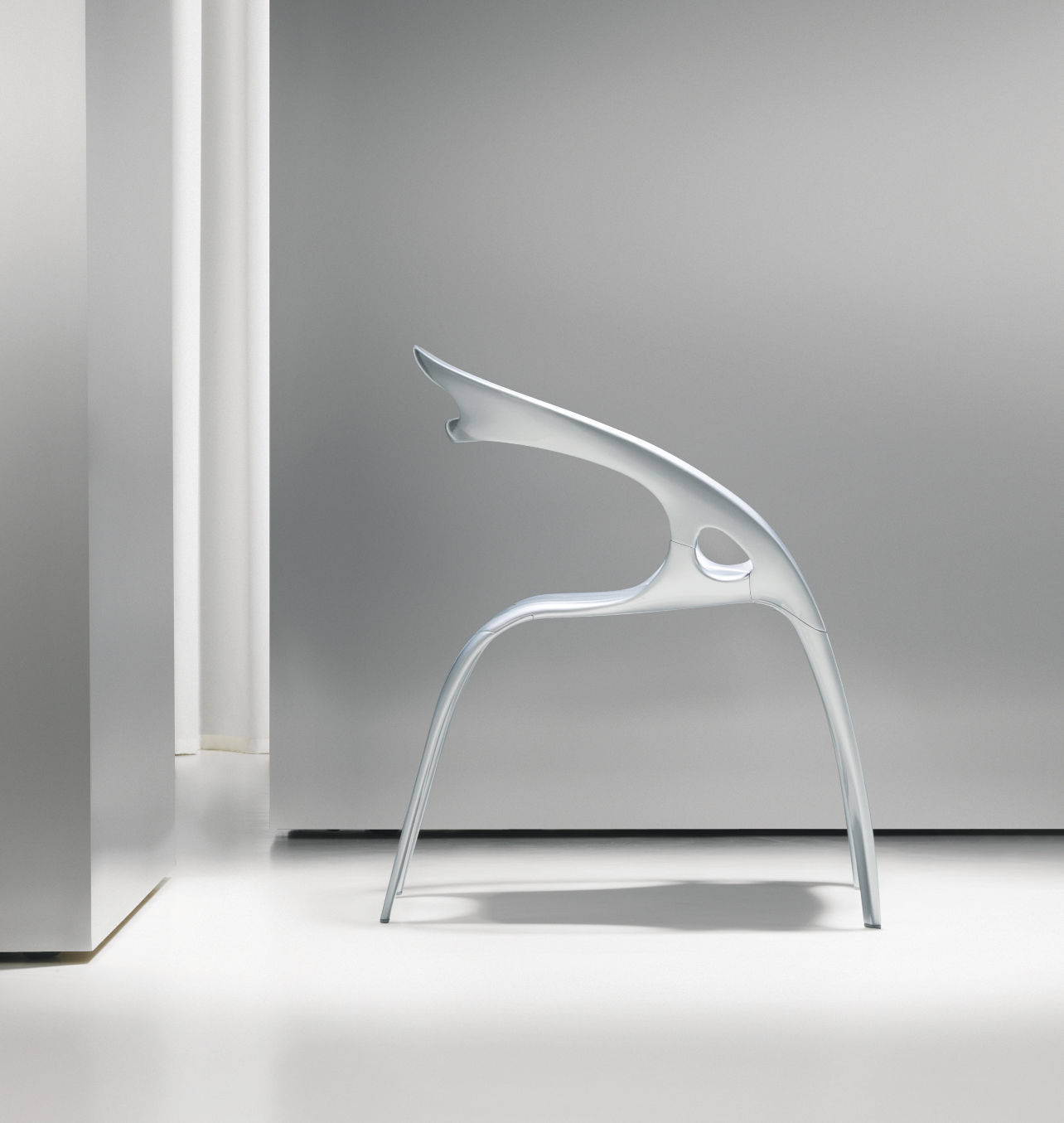 original design chair metal by ross lovegrove go bernhard design